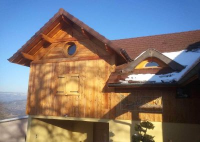 Extension en ossature bois saint pierre d_alvey