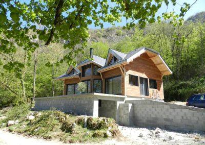 Maison ossature bois belley