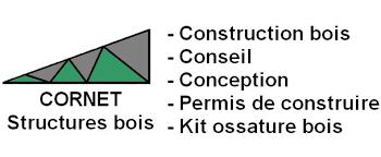 cornet structure bois